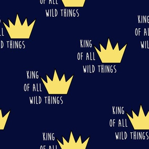 wild things toss-navy