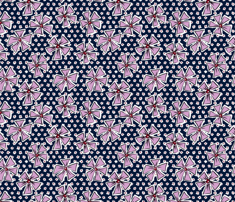 Pinwheel Pop Limited fabric by jewelraider on Spoonflower - custom fabric