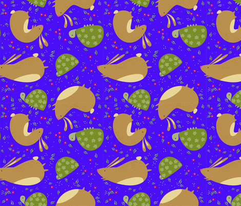 h t fabric by carmenland on Spoonflower - custom fabric