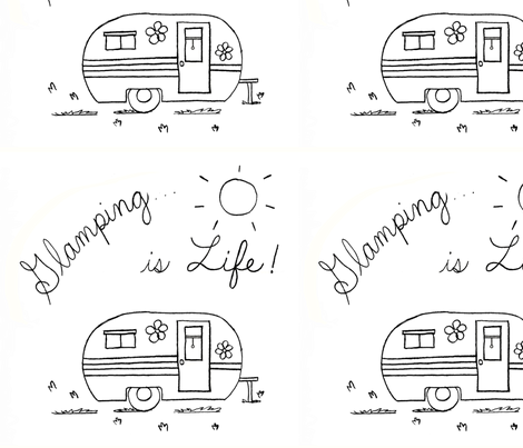 Glamping12x12 fabric by shankari on Spoonflower - custom fabric