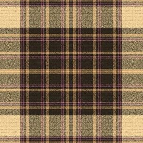 Art Deco Grunge Plaid