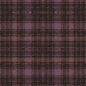 Art Deco Rain Splashed Plaid
