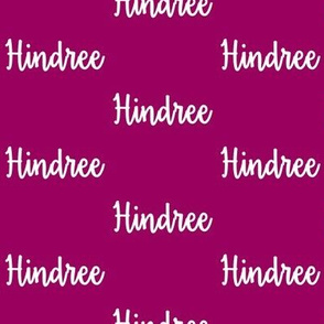 Hindree - Orchid