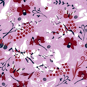 Hopeful carrier doves