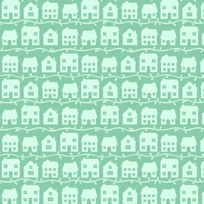 Cottage Charm in Peppermint Green