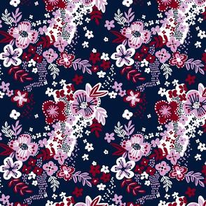 Limited palette floral