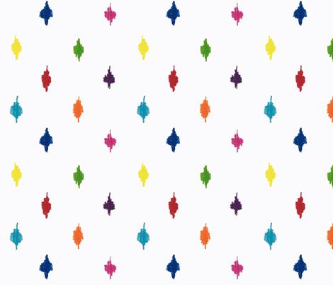 farmhouse chic, rustic polka dots fabric by lisakling on Spoonflower - custom fabric