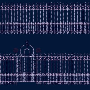 Stitched Gate-limited color palette