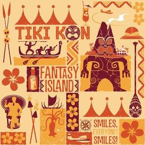 Tiki Kon Fantasy Island - Gold