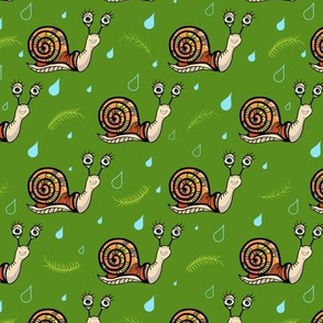 Happy snails