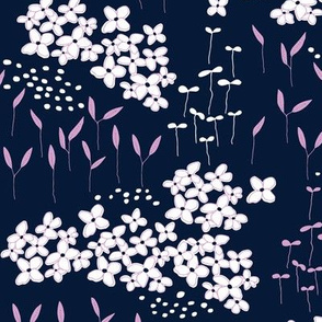 Orchid and Navy - 01