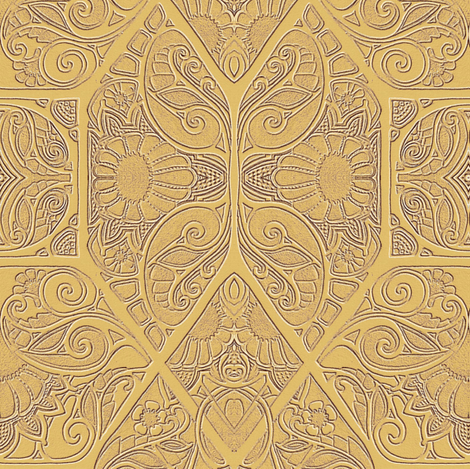 Where the Paisley  Bloom fabric by edsel2084 on Spoonflower - custom fabric