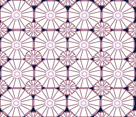 NEW GOEMETRIC CIRCLES-01 fabric by soobloo on Spoonflower - custom fabric