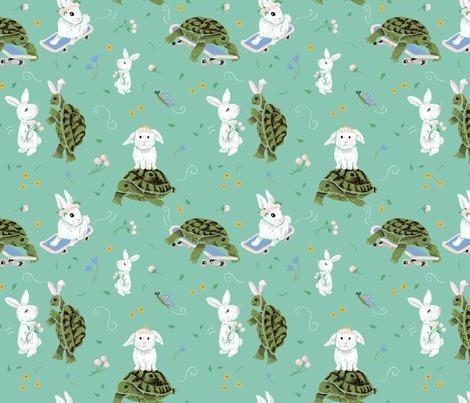 Rturtle-rabbit_9x9-150dpi_repeat_contest173846preview