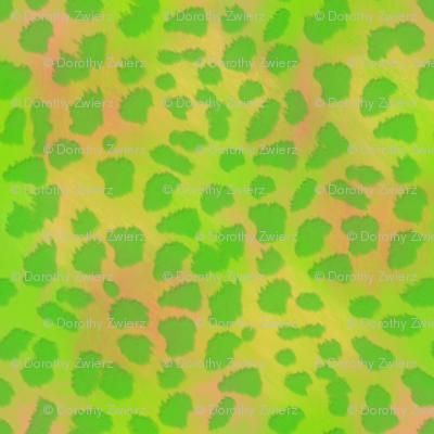 Green Apple Cheetah