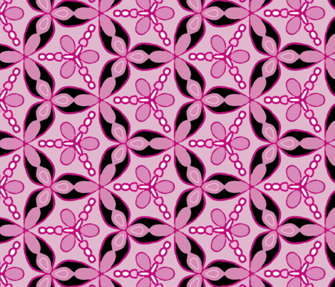 Truly Pink fabric by gin0531 on Spoonflower - custom fabric