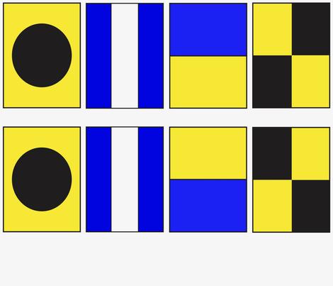 Letter I J K L (3/7) fabric by noelleodesigns on Spoonflower - custom fabric
