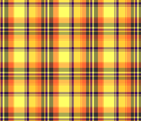 06f5cef72fd02 Purple and Yellow Plaid wallpaper - jenypher - Spoonflower
