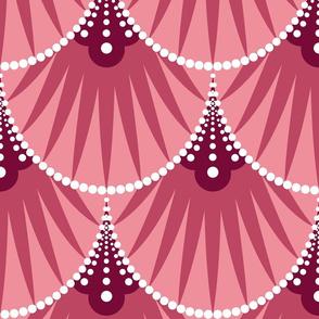 Art Deco Scales - Pink