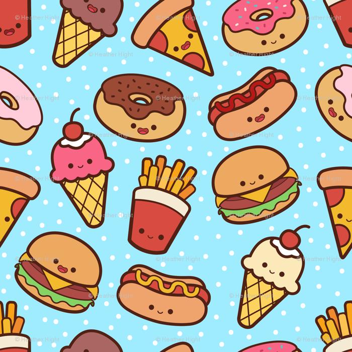 Food Kawaii Wallpaper