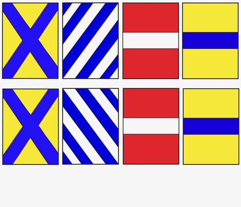 Numbers 5-8 (2/3) fabric by noelleodesigns on Spoonflower - custom fabric