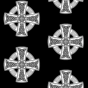 Celtic Cross // Black // Large