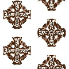 Celtic Cross // Brown // Large