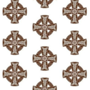 Celtic Cross // Brown // Small