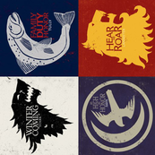 "4"" House Sigils // Vertical"