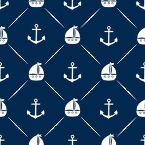 Anchors & Sailboats - Custom