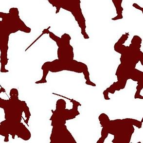 Crimson Ninjas // Large