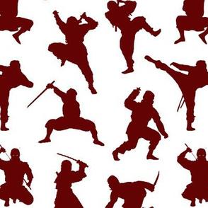 Crimson Ninjas // Small