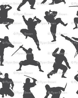 Charcoal Ninjas // Large