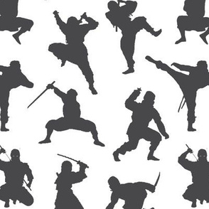 Charcoal Ninjas // Small