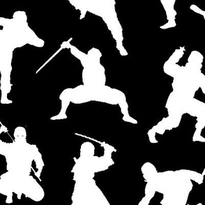White Ninjas // Large