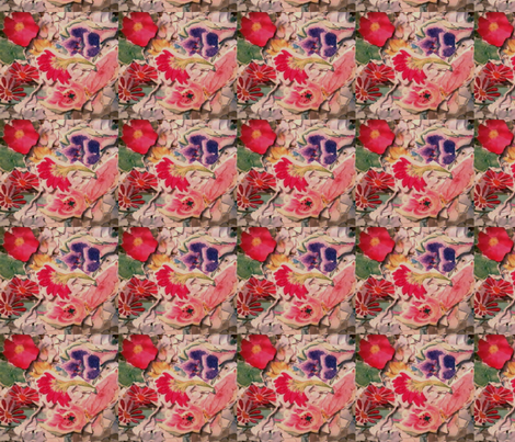 171220_011Flowers (1) fabric by stlojza1 on Spoonflower - custom fabric