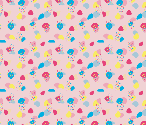 Konfettiparty fabric by christinaa on Spoonflower - custom fabric