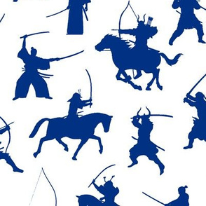 Blue Samurai // Large