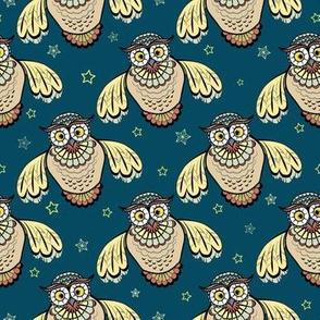 Owls parade