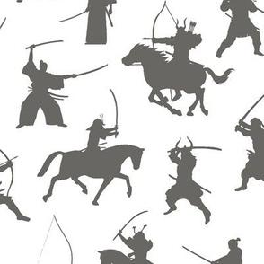 Grey Samurai // Large