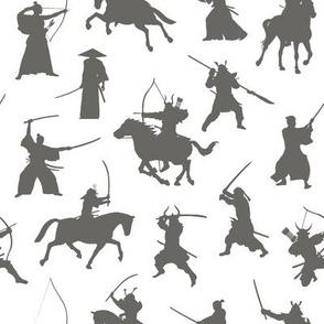 Grey Samurai // Small
