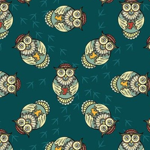Sleepless owls