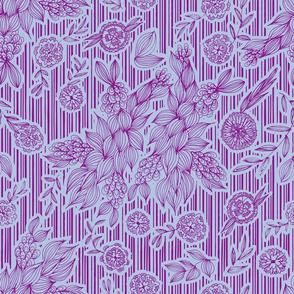 Calliope Blue Floral