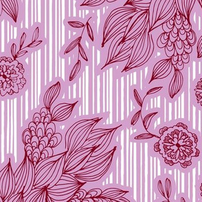 Calliope Candy Cane Floral