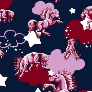 little pink ponies