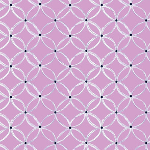 spoonflower challenge navy orchid