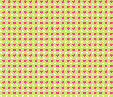 Lots of Hearts fabric by bluecasakitchen on Spoonflower - custom fabric