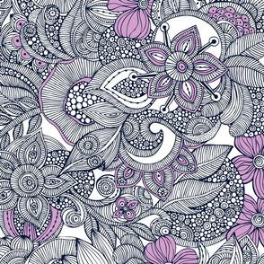 Orchid doodles