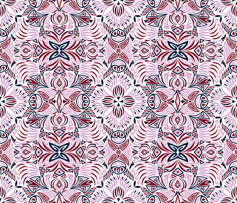 Tribal Chaos fabric by artsytoocreations on Spoonflower - custom fabric