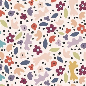 whimsical floral